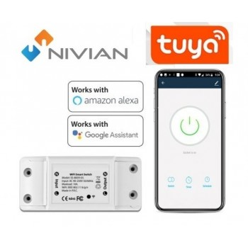 Smart switch on off  Nivian wifi 10A